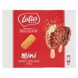 Lotus The Original Speculoos Mini Roomijs Sticks 8 x 50 ml