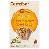 Carrefour Top Chrono Lentilles Blondes 300 g