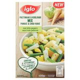 Iglo Veggie Love Mix Panais et Chou-Rave aux 3 Poivres 400 g