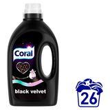 Coral  Détergent liquide Black Velvet  26 Lavages