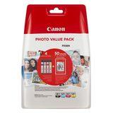Canon - Inktcartridge CLI-581XL + Fotopapier