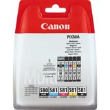 Canon - Inktcartridge PGI-580/CLI-581 - BL/C/M/Y
