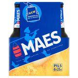 Maes Bière blonde Pïls Convenience 5.2% ALC Bouteille 6x25cl