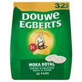 DOUWE EGBERTS Café Pads  Moka Royal 32 Pièces