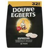 DOUWE EGBERTS Café Pads Espresso 32 pièces