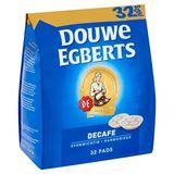 DOUWE EGBERTS Café Pads Decafe 32 pièces