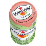 BIO Tea Perzik + SanPellegrino® Blikje 6 x 0.25 L