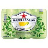 BIO Tea Citroen + SanPellegrino® Blikje 6 x 0.25 L