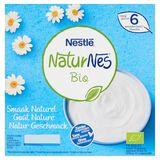 Nestlé NaturNes Bio Smaak Naturel vanaf 6 Maanden 4 x 90 g