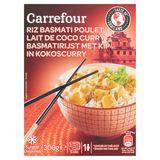 Carrefour Basmatirijst met Kip in Kokoscurry 300 g
