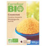 Carrefour Bio Couscous Middelgrote Korrel 500 g