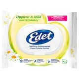 Edet Hygiene & Mild Kamille Vochtig Toiletpapier 42 Stuks