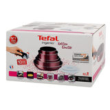 Tefal Batterie de cuisine Ingenio Essential 8 pièce Rouge