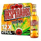 Desperados Bier Tequila Partypack 5.9% ALC Fles 12x25cl