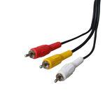 Poss - Câble 3xRCA M 3m (PSVID02)