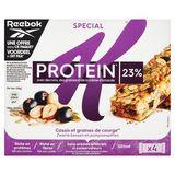 Kellogg's Special K Protein 23% Zwarte Bessen & Pompoenpitten 4 x 28 g