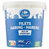 Carrefour Hareng Filets au Vinaigre 1000 g