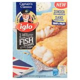 Iglo 2 Filets de Poisson Façon Fish & Chips 240 g