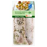 Carrefour Mild Gezuurde Haringfilets met Dille 90 g