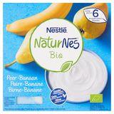 NaturNes BIO Peer-Banaan vanaf 6 Maanden 4 x 90 g