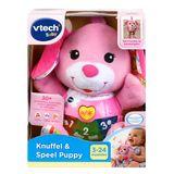 Vtech Baby - Knuffel & Speel Puppy roze 3M+ (NL)