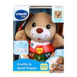 Vtech Baby - Knuffel & Speel Puppy bruin 3M+ (NL)