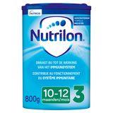 Nutrilon 3 Lait de Suite poudre bébé dès 10 mois 800g