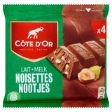 Côte d'Or Lait Noisettes 4 x 45 g