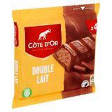 Côte d'Or Double Lait 4 x 46 g
