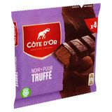 Côte d'Or Noir Truffé 4 x 44 g