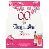 Hoegaarden Rosée 0.0% Alc Flessen 6 x 25 cl