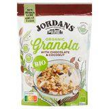 Jordans Granola Bio Dark Chocolate Curls, Coconut Chips and Pumpkin Seeds 400 g