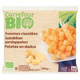 Carrefour Bio Gebakken Aardappelen 600 g