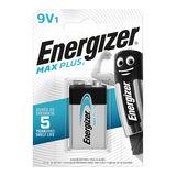 Energizer Max Plus 1 Pile Alkaline 9V