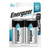 Energizer Max Plus Piles Alcalines D 2 pièces