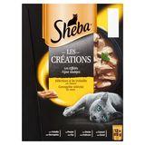 Sheba Les Créations Les Effilés 12 x 85 g
