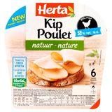 Herta Poulet Nature Sans Nitrites 6 Tranches 110 g