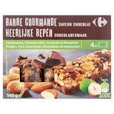 Carrefour Heerlijke Repen Chocoladesmaak 4 x 35 g