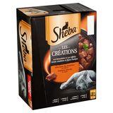 Sheba Les Créations Les Bouchées & Les Effilés 12 x 85 g