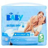 Carrefour Baby Ultra Dry 5 Junior 11-25 kg 40 Couches