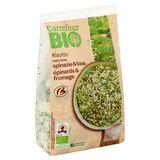 Carrefour Bio Risotto avec Épinards & Fromage 600 g