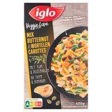 Iglo Veggie Love Mix Butternut et Carottes au Thym et Romarin 400 g
