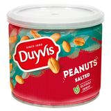 Duyvis Pinda's Peanuts Zout 200g - Tin