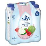 SPA TOUCH Raspberry Apple Gearomatiseerd Water Niet-Bruisend 6 x 50 cl