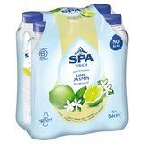 SPA TOUCH Lime Jasmin Gearomatiseerd Water Niet-Bruisend PET 6 x 50 cl