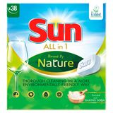 Sun All-in One Vaatwastablet Ecolabel 38 Tabletten