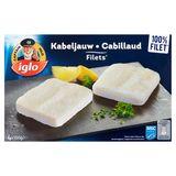 Iglo 4 Filets de Cabillaud en Bloc 400 g