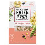 Off The Eaten Path Snack Riz & Pois Sour Cream & Black Pepper 120 gr