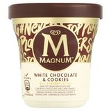 Magnum Ola Ijs Pint White Chocolate & Cookies 440 ml