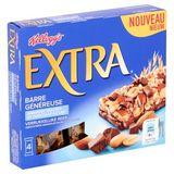 Kellogg's Extra Reep Geroosterde Amandelen en Melkchocolade 4 x 32 g